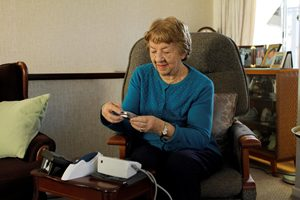 Telehealth could help support the independence of heart failure patients.