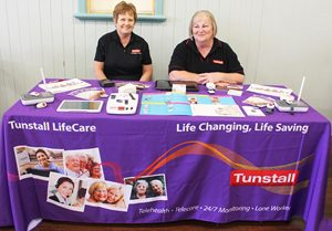 Tunstall had some amazing results from the recent staff survey.