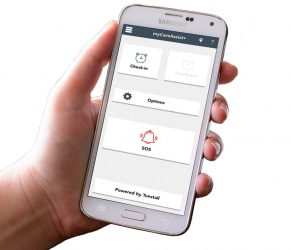 Connected Care devices and applications - myCareAssist from Tunstall Healthcare
